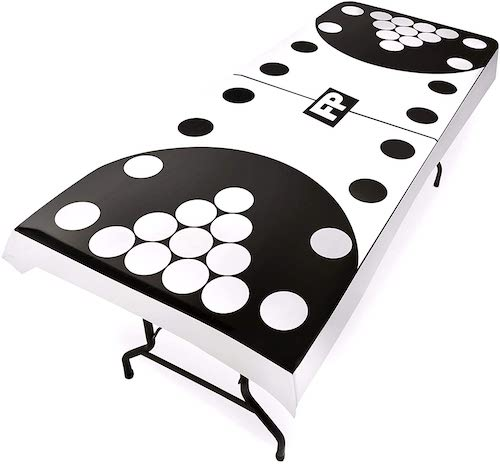 9. Flip Pong Drinking Games Table Cover