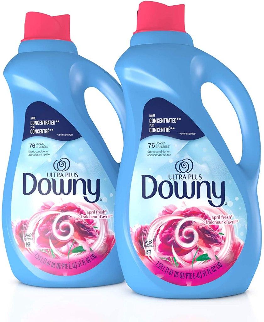 Downy Ultra Plus Liquid Laundry Fabric Softener, best fabric softeners