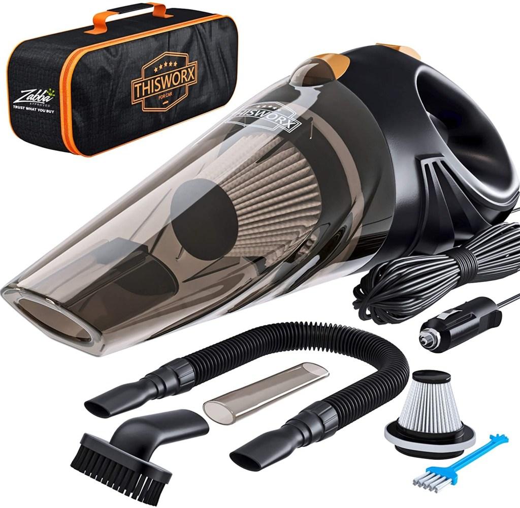 ThisWorx Portable Car Vacuum Cleaner, Best Car Gadgets