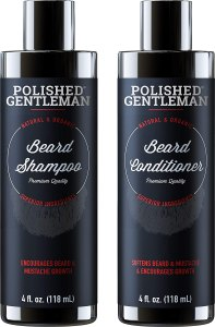 Beard Growth Shampoo and Conditioner Set, best beard conditioner