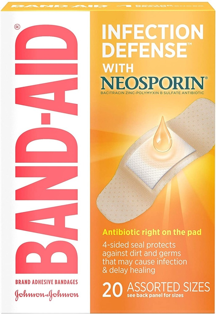 Bandaid in Defense with Neosporin, best tick removing tools