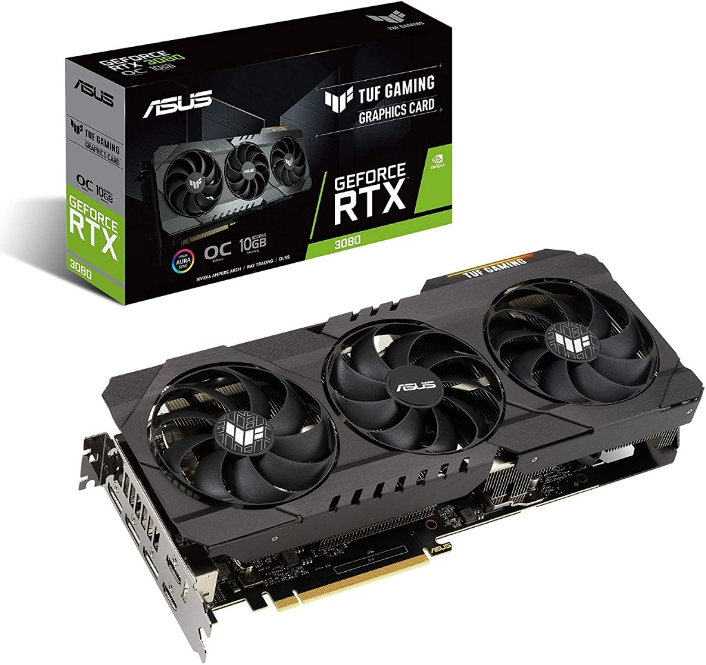 nvidia geforce rtx 3080 - best graphics cards