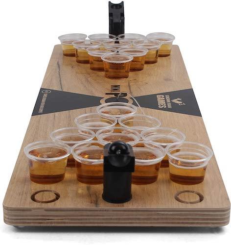 Grown Man Games Mini Beer Pong Drinking Game