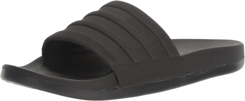 Adidas Men's Adilette Comfort Slide Sandal, most comfortable flip flops