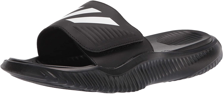 Adidas Originals Men's Alphabounce Slide Sport Sandal, most comfortable flip flops