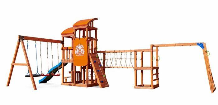 Adventures Bobcat Ridge Swing Set