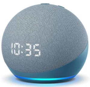 Amazon Echo Dot with Clock smart alarm clock