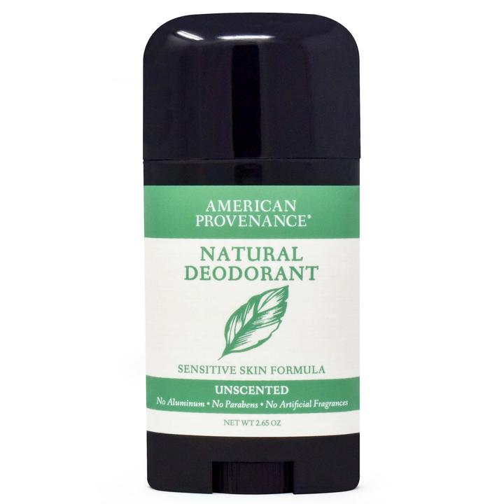 American Provenance Natural Deodorant unscented