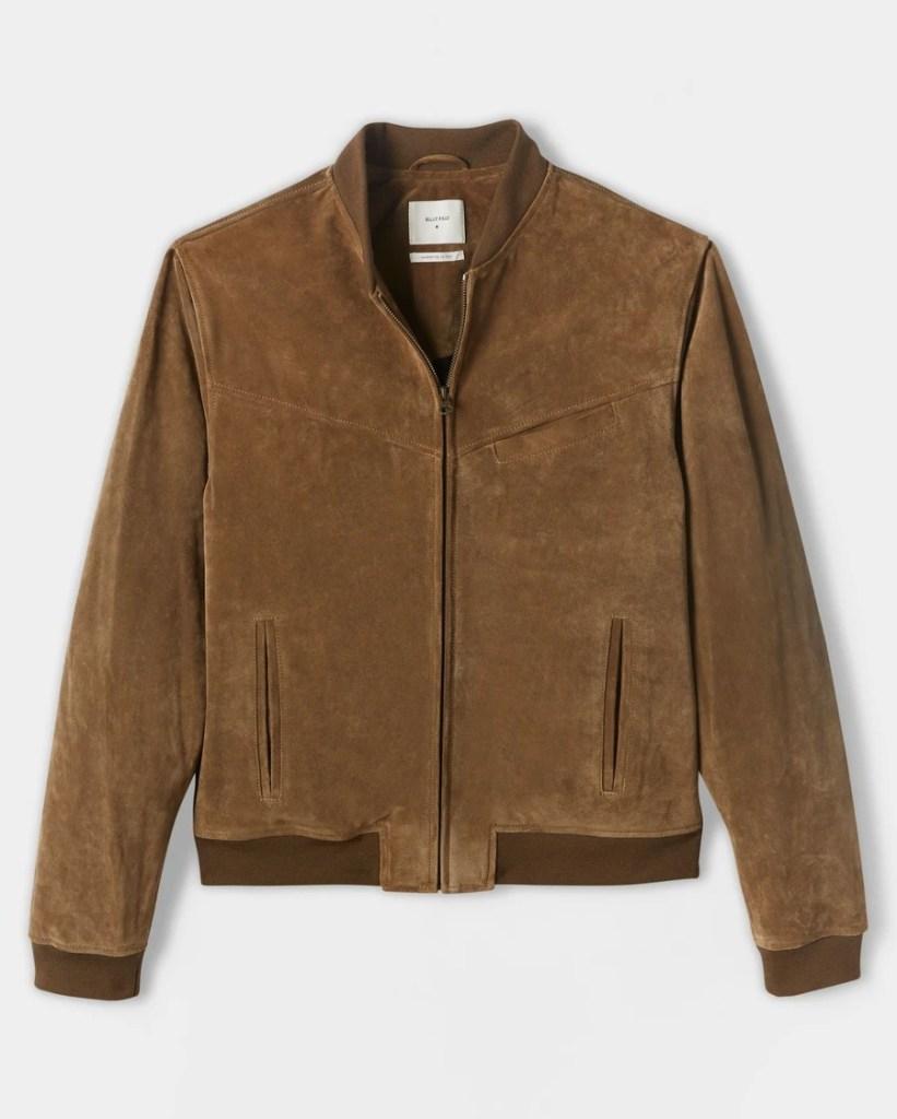 Billy-Reid-Suede-Bomber-best-bomber-jacket