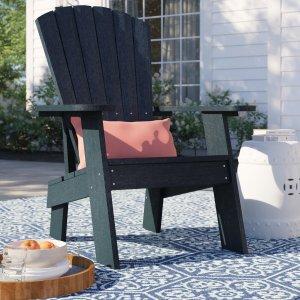 Colworth plastic adirondack chair, best Wayfair deals