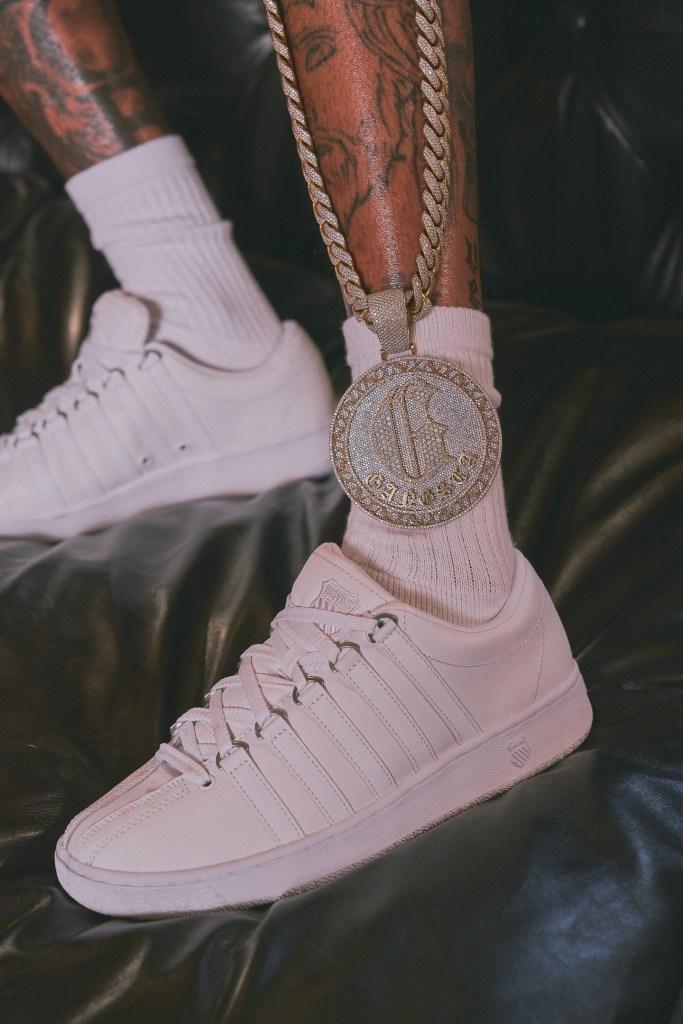 Compton-Country-Club-YG-wearing K-Swiss Classic LX Sneaker