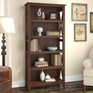 bing cherry cyra bookcase, way day wayfair deals