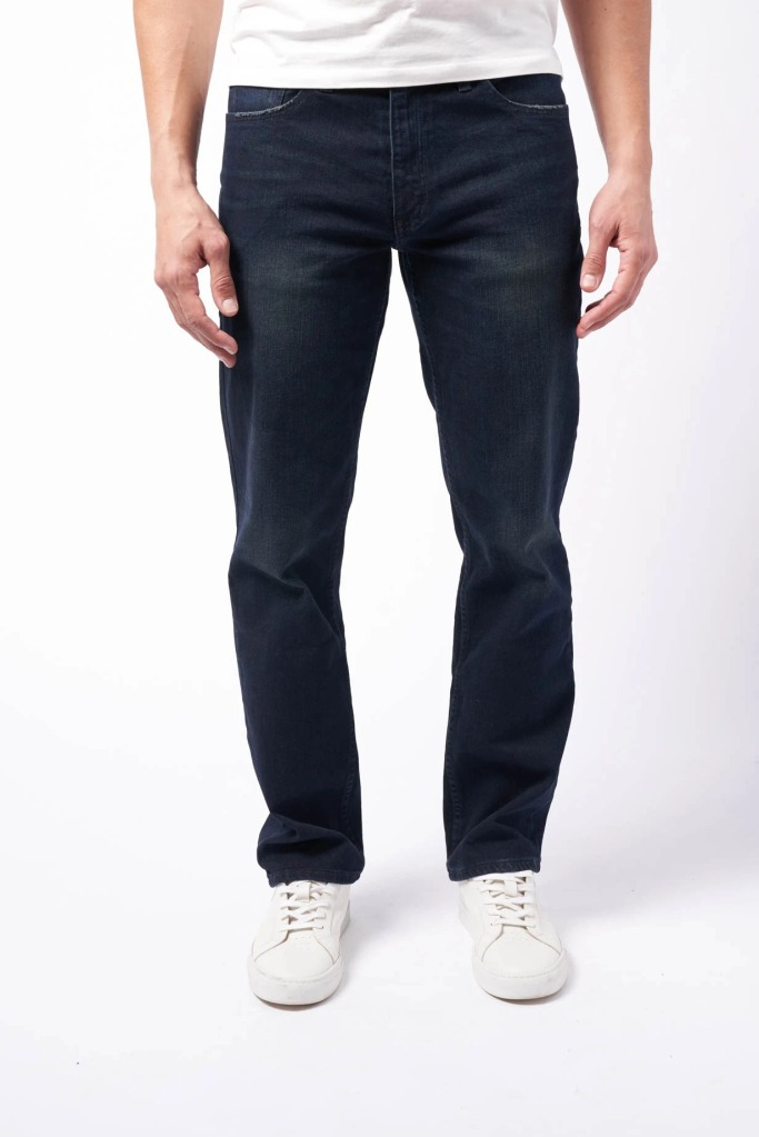 Devil-dog dungarees straight fit jeans