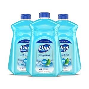 dial antibacterial liquid hand soap refill, foaming hand soap refill