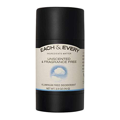 Each & Every Deodorant for Sensitive Skin, best deodorant for sensitive skin