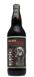 Epic Brewing Big Bad Batista best beers of 2021