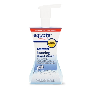 foaming hand soap equate foaming antibacterial