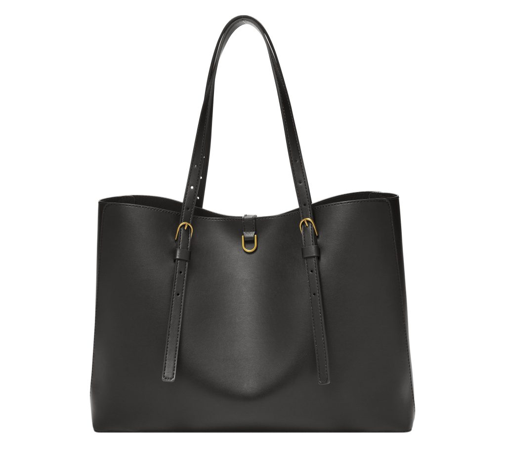 Fossil Kier Cactus Leather tote