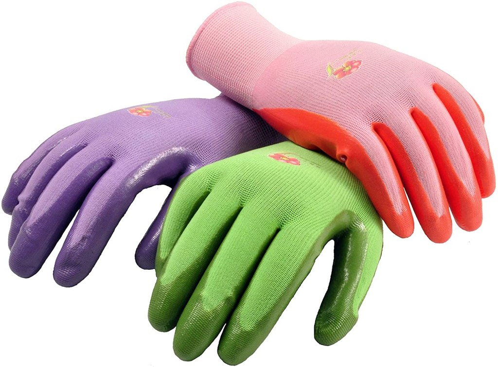 G&F Products Gardening Gloves with Micro-Foam Coating