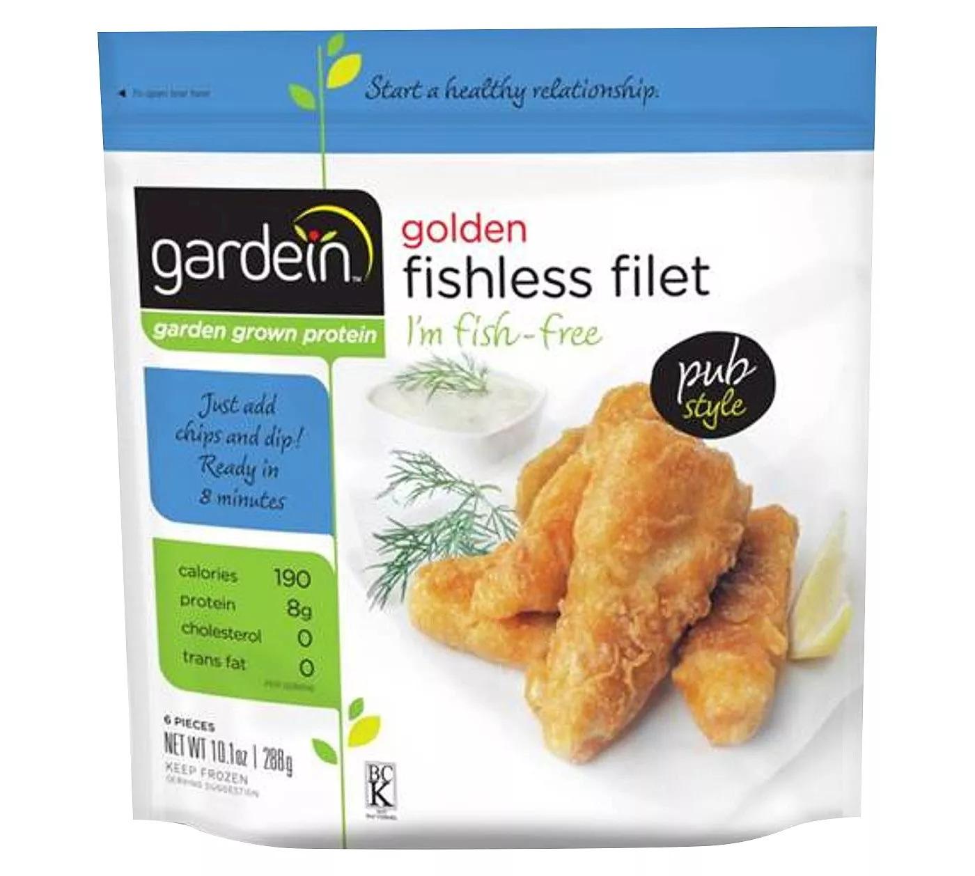 Gardein Golden Frozen Fishless Filet