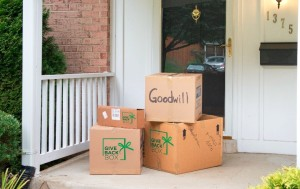 GiveBackBox, best places to donate clothes