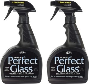 hopes perfect glass cleaning spray