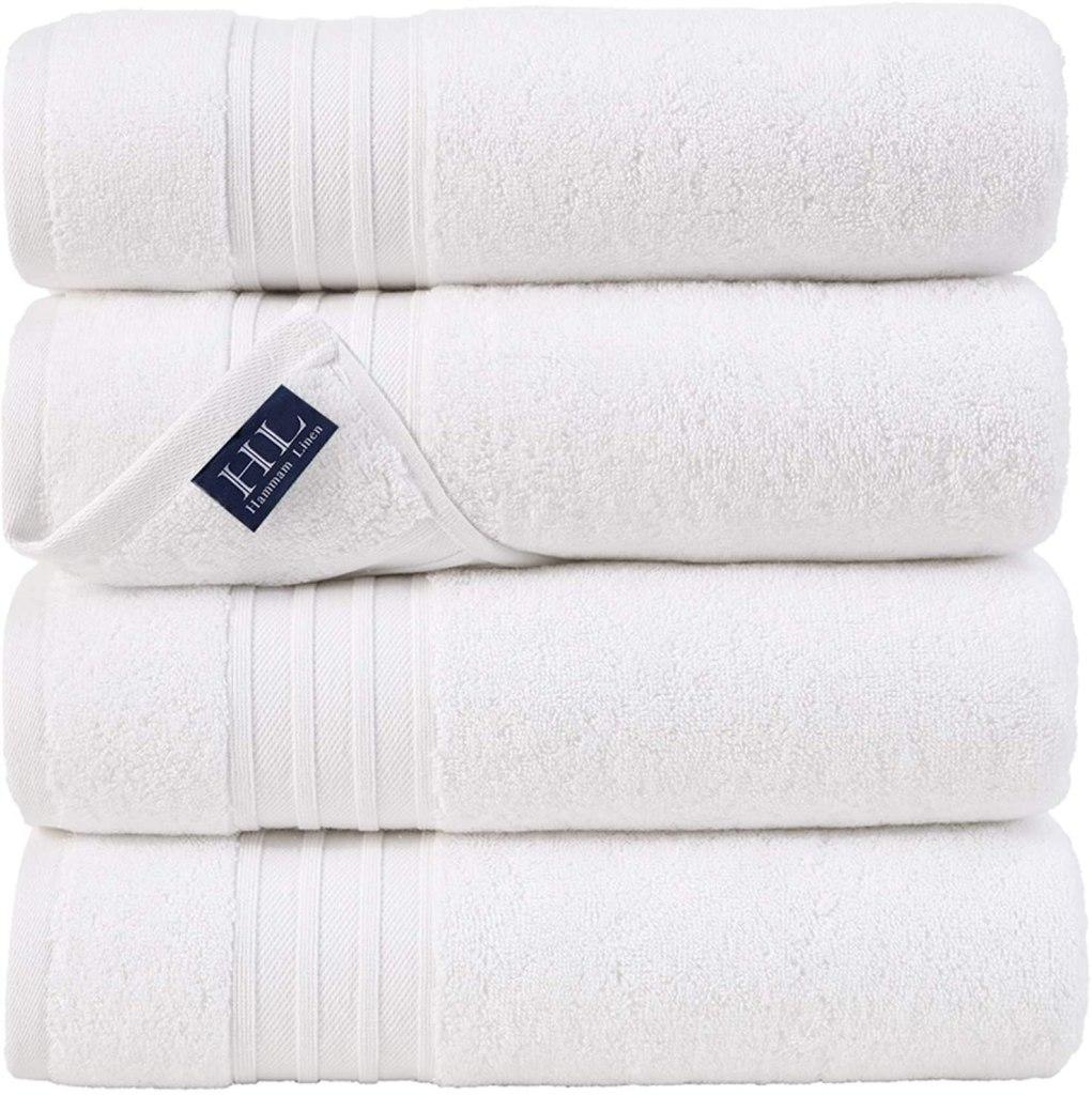 Hammam Linen 4 Piece Bath Towels