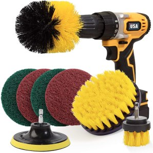 Holikme drill brush, best ways to clean grout