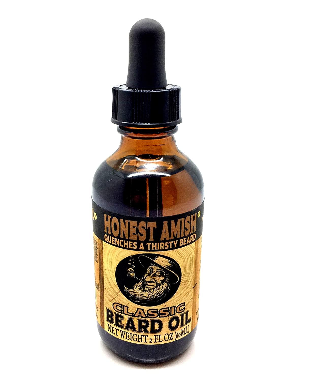 Honest Amish Classic Beard Oil, beard balm vs oil