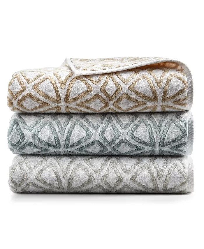 """Hotel Collection Connections Cotton 30"""" x 56"""" Bath Towel"""