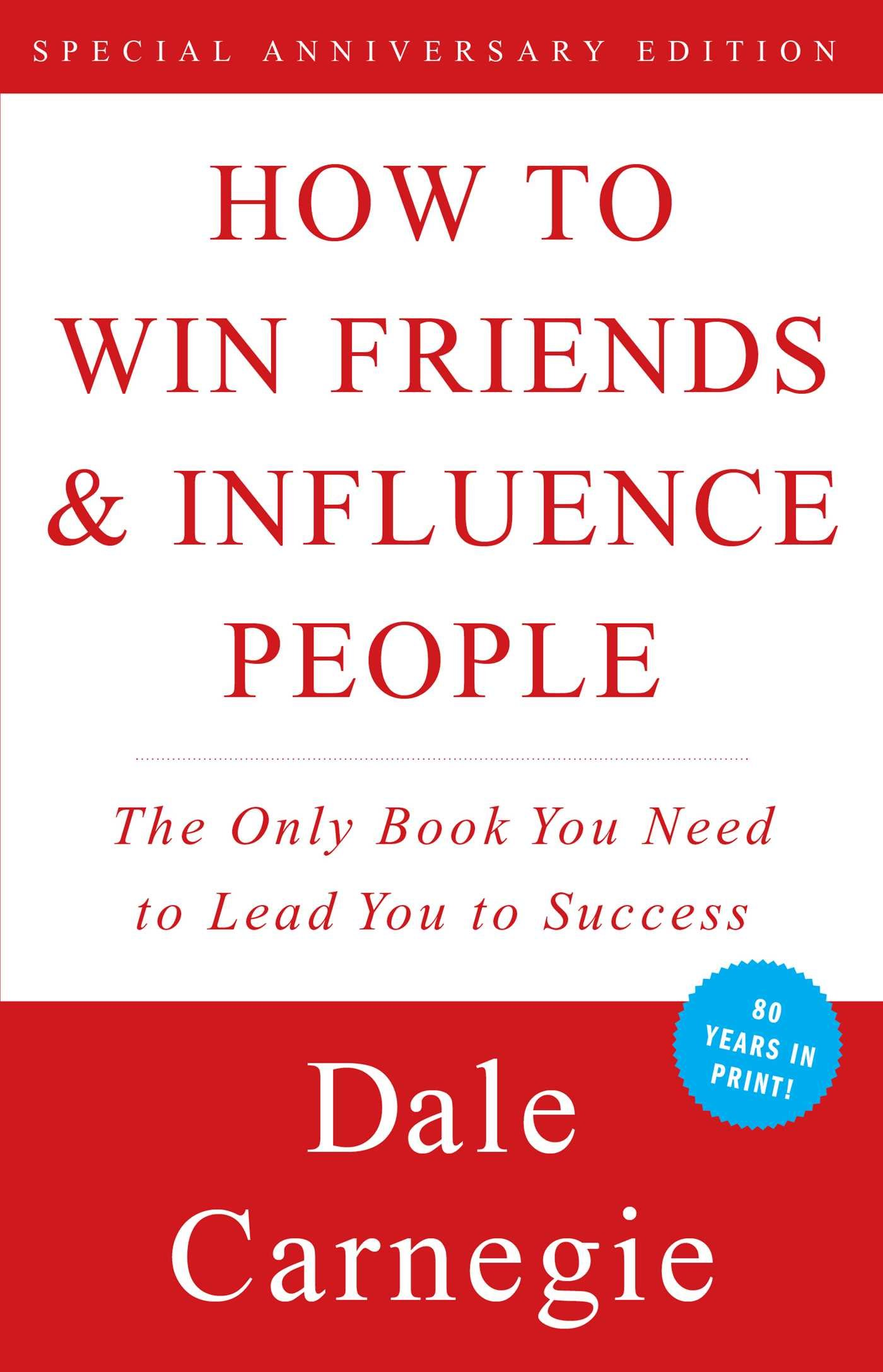 How to Win Friends & Influence People by Dale Carnegie, best leadership books