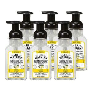 foaming hand soap j.r. watkins