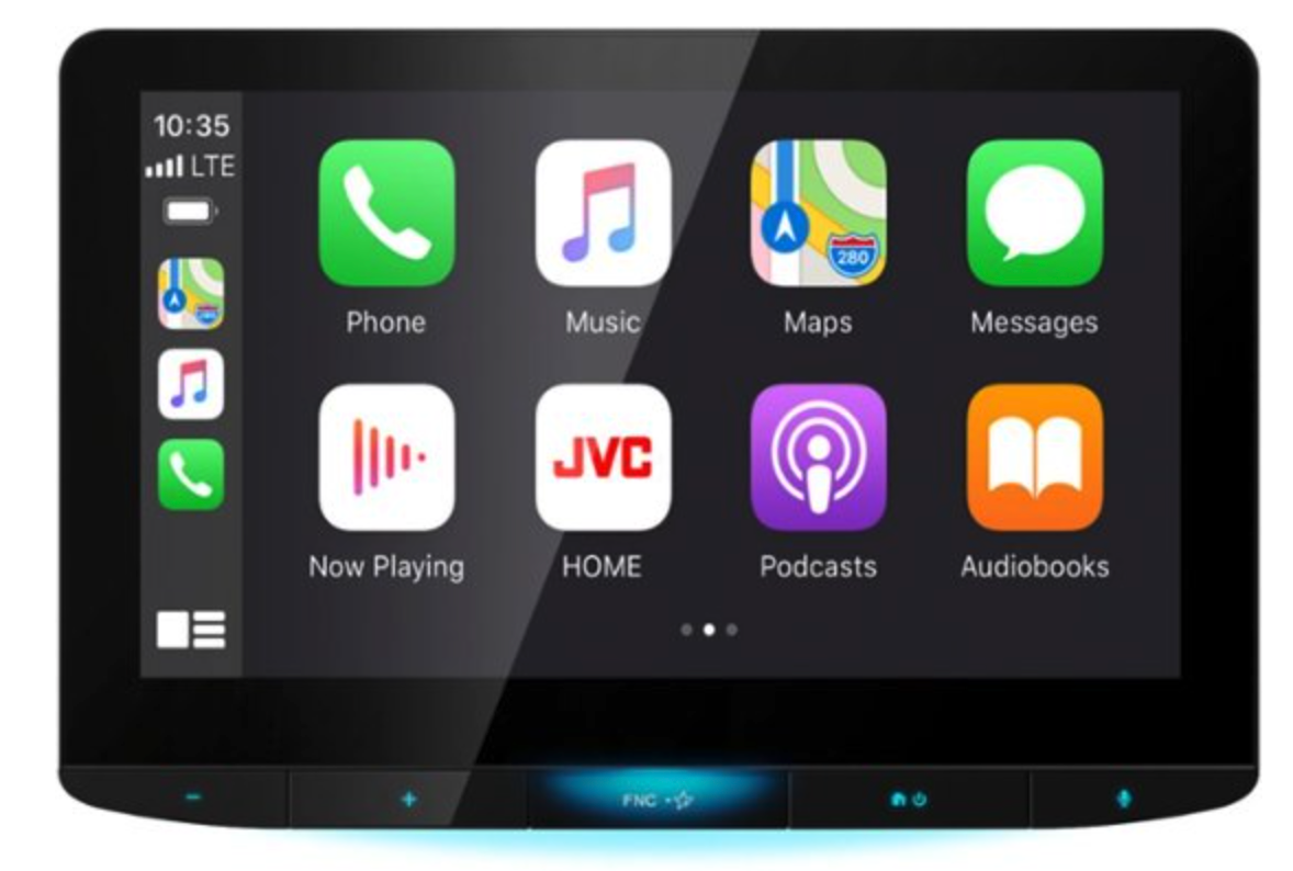 JVC Full HD Screen Universal Digital Media Receiver Car Stereo