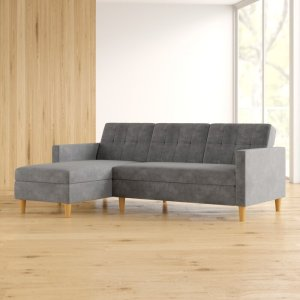kayden chaise sleeper sofa, way day wayfair deals