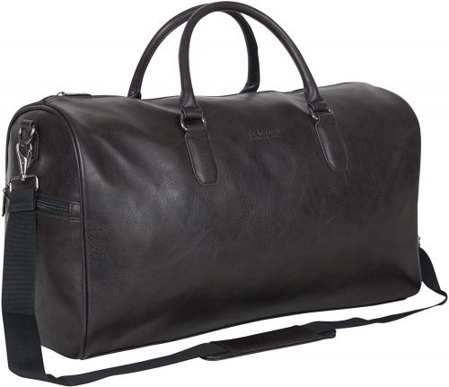 Kenneth Cole Reaction Port Stanley Pebbled Leather Duffle