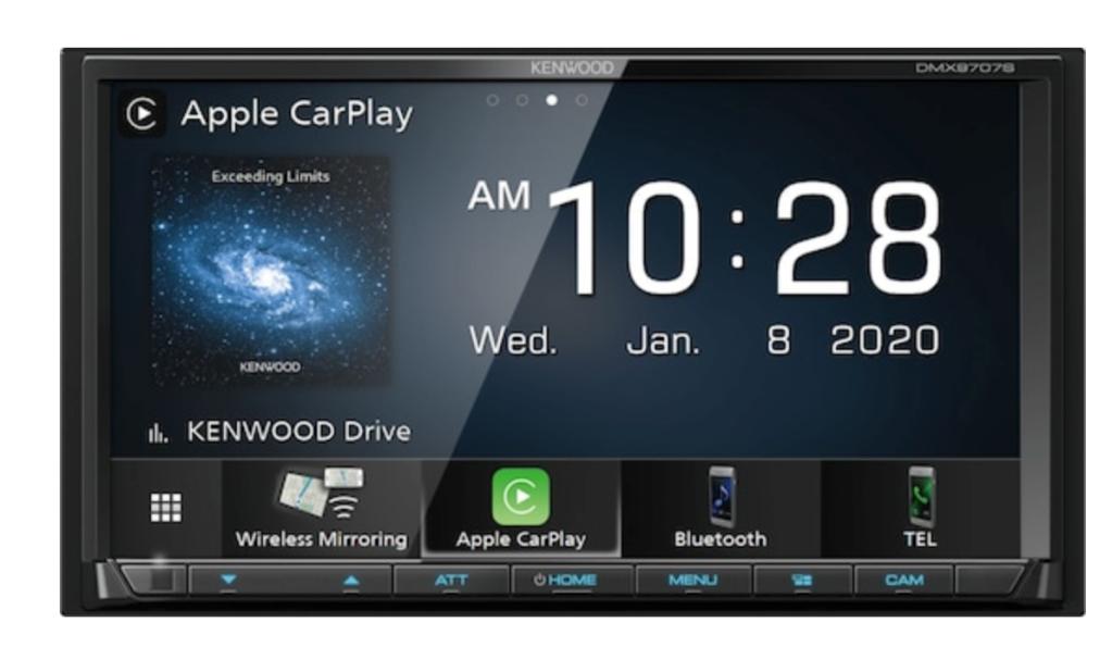 Kenwood Android Auto/Apple CarPlay Car Stereo