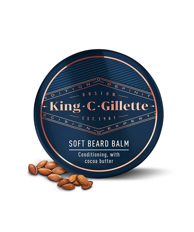 King C. Gillette Soft Beard Balm
