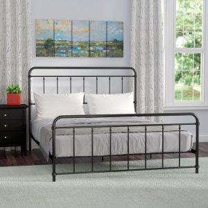 Matheney Platform bed, way day wayfair deals