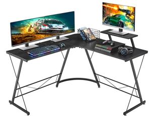 Mr. Ironstone L-Shaped Gaming Desk