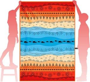 oversized beach towels ocoopa microfiber