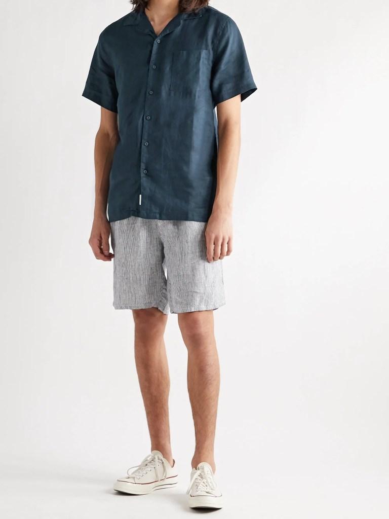 Onia Vacation Linen Shirt
