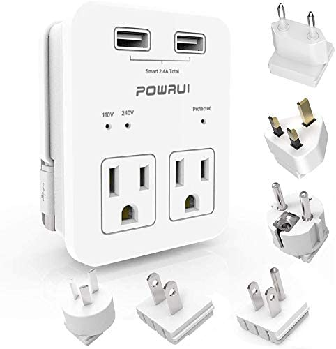 POWRUI International Power Travel Adapter