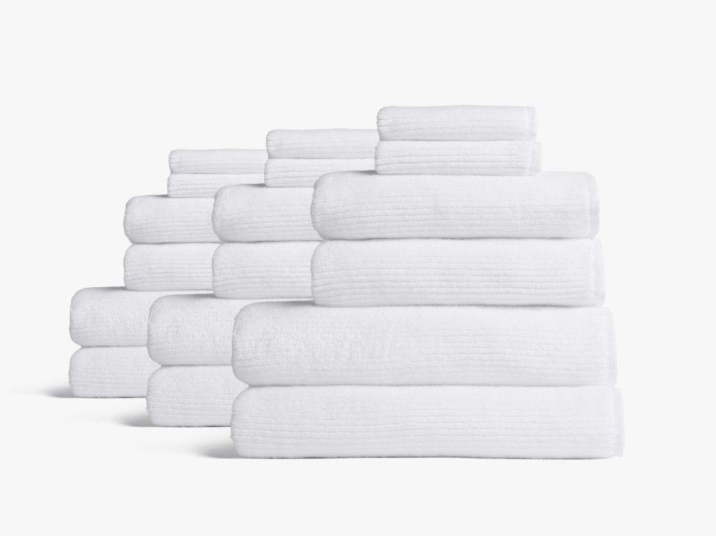 Soft Rib Supreme Towel Bundle by Parachute