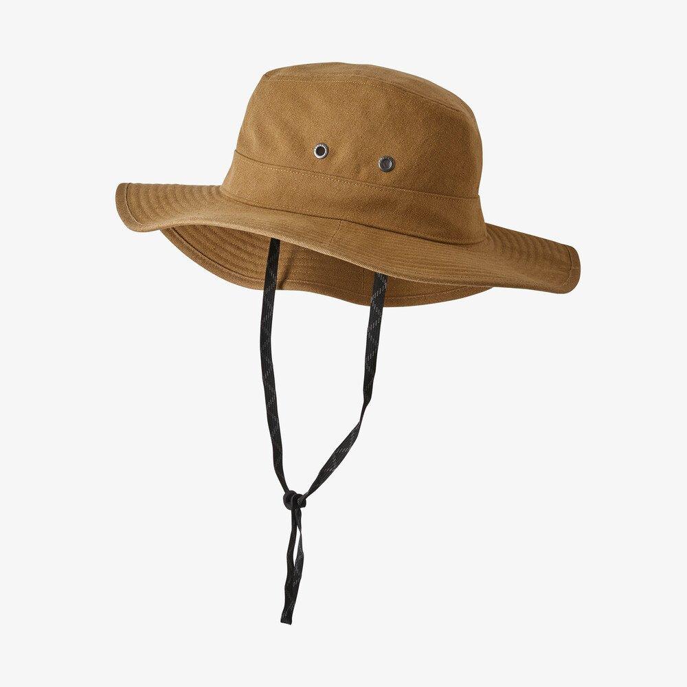 Patagonia Forge Hat in khaki-tan, sun hats for men