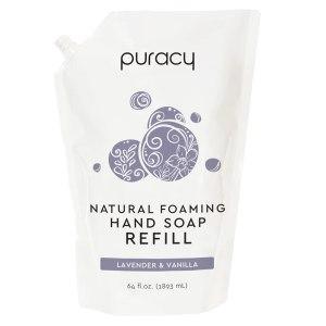 foaming hand soap puracy natural