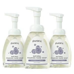 puracy natural foaming hand soap