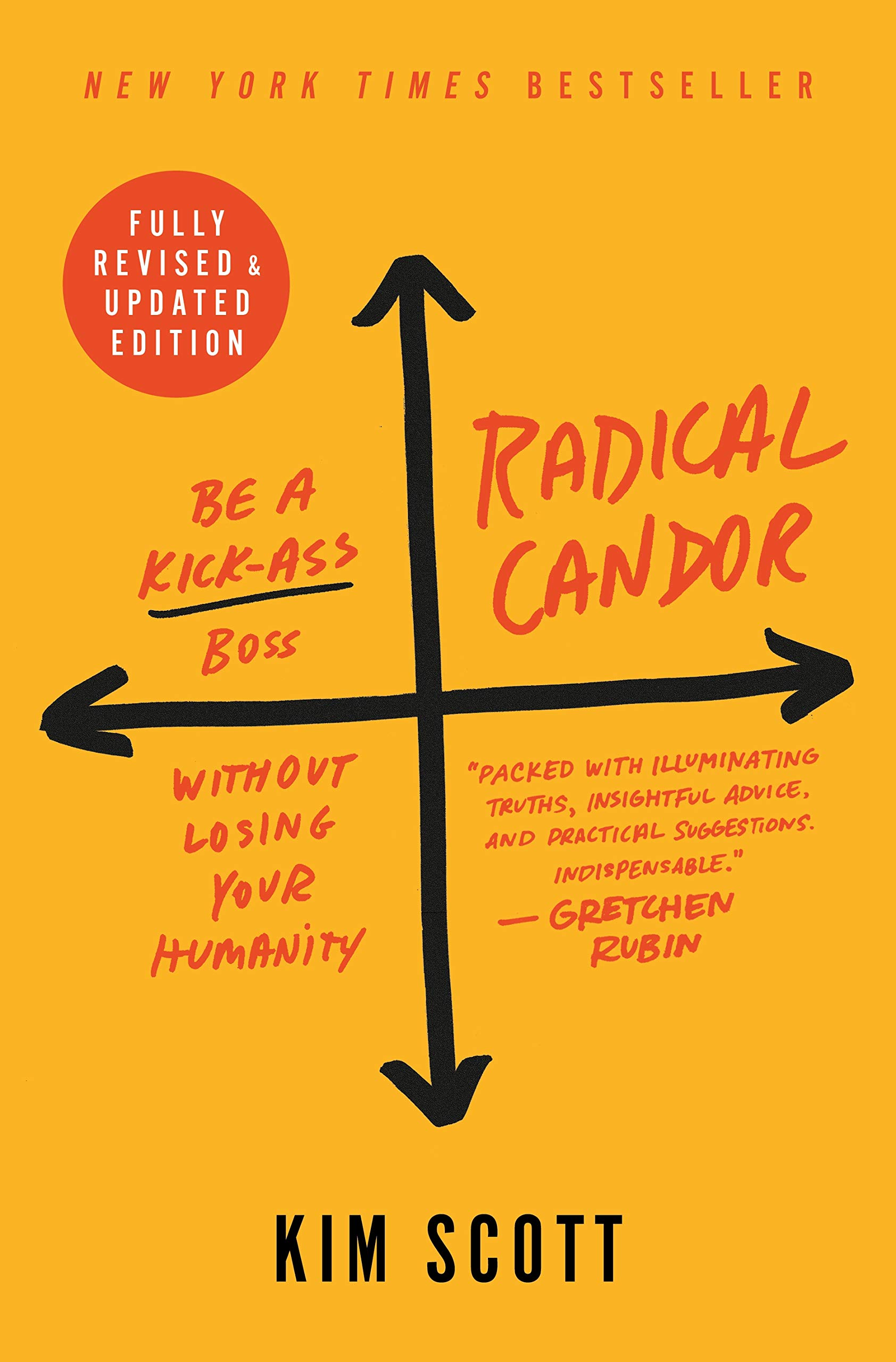 Radical Candor: Be a Kick Ass Boss Without Losing Your Humanity by Kim Scott