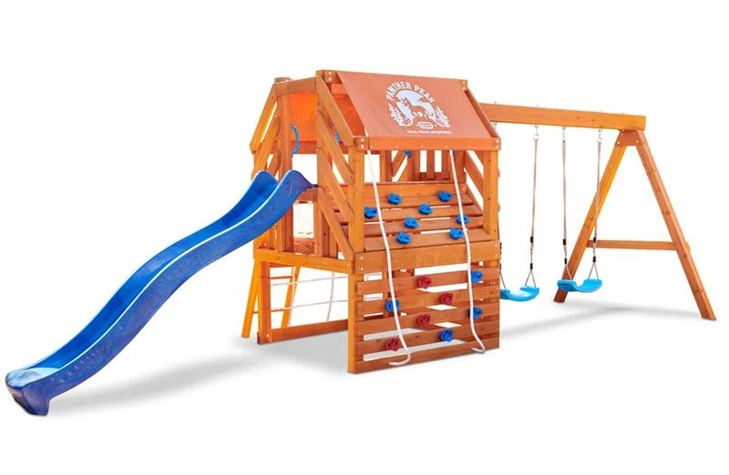 Real Wood Adventures Panther Peak by Little Tikes, best outdoor playsets