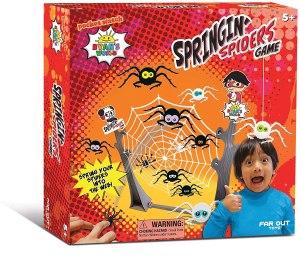 Ryan's World Springin' Spiders