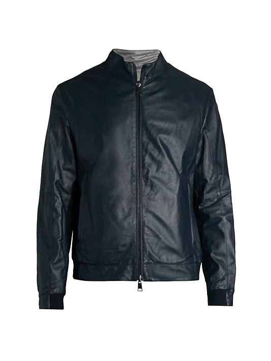 Saks-Fifth-Avenue-COLLECTION-Reversible-Leather-and-Nylon-Bomber-Jacket